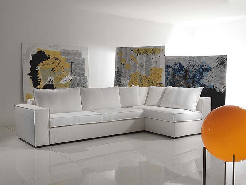 divano Granada angolare - un bracciolo