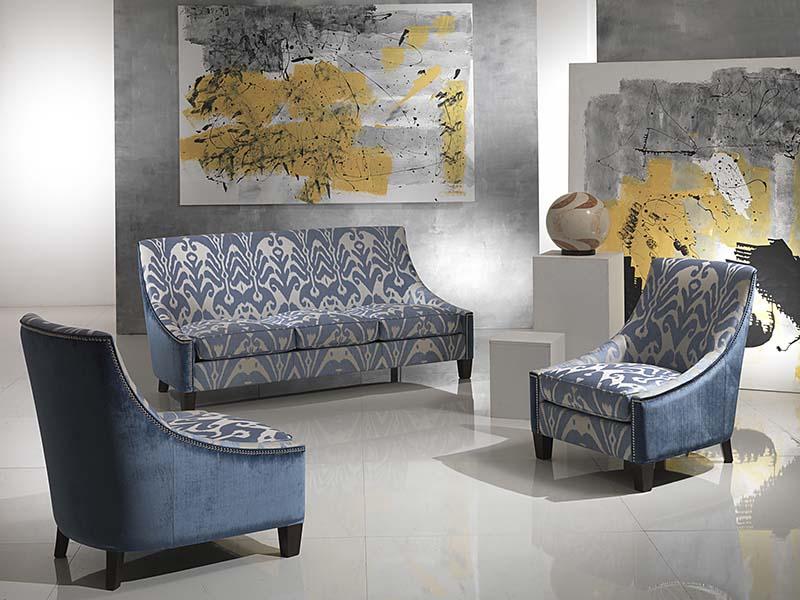 divano Kirsi 3 posti con due poltroncine kirsi