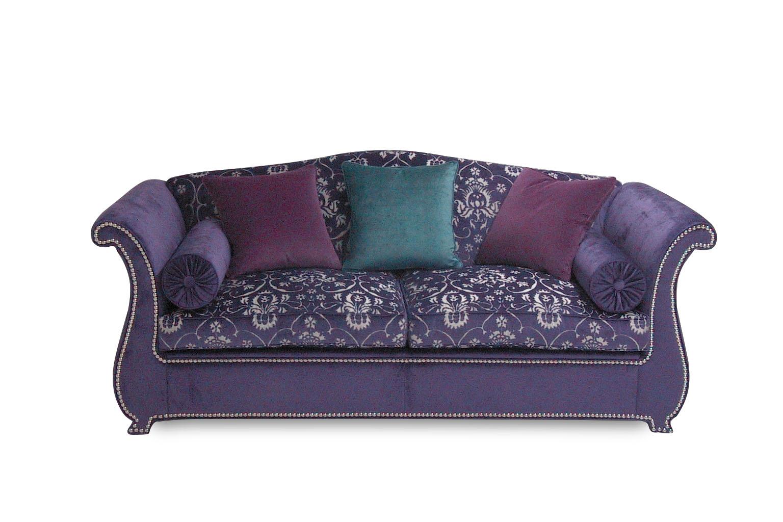 Lancillotto divano letto viola luciano valtorta - Divano letto viola ...